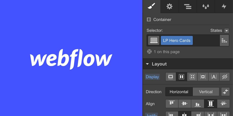 Principios de diseño en Webflow